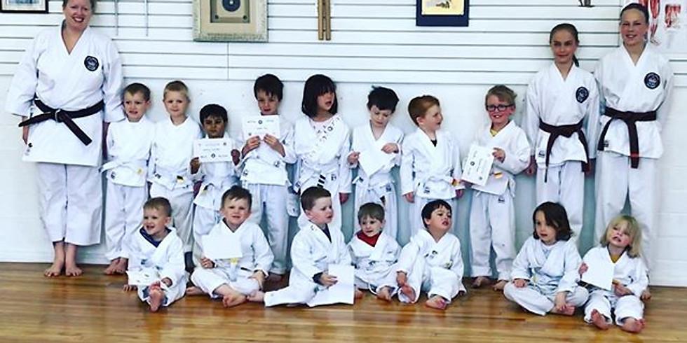 Kinder Karate Stripe Ceremony 10:00 AM