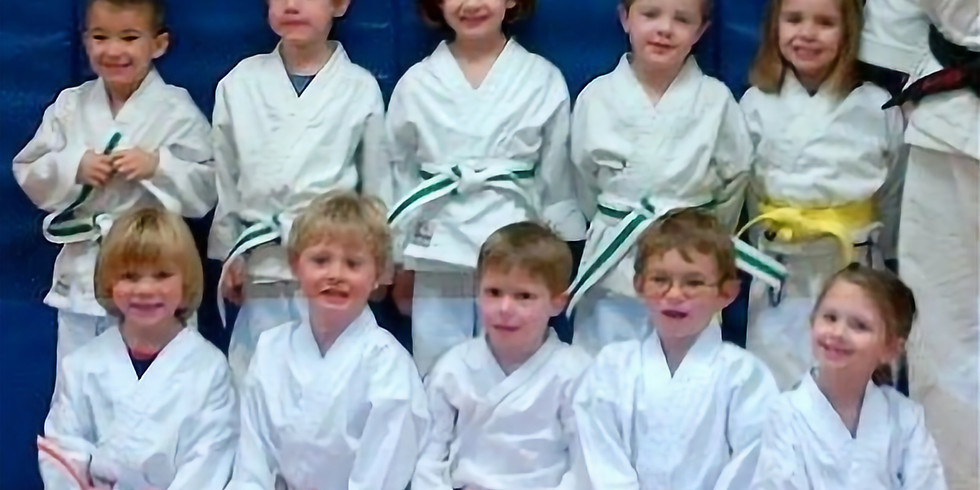 Kinder Karate B - returning students only