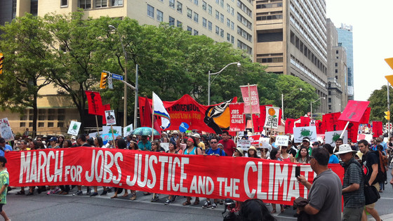 March for Jobs, Justice and the Climate