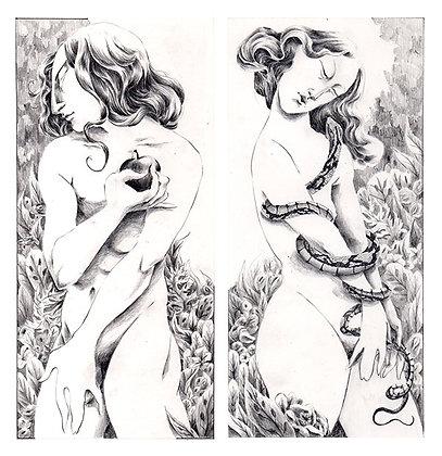 """Print """"Adam et Eve"""""""
