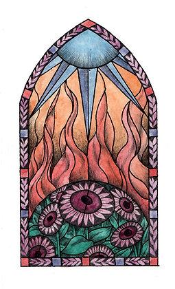 """Soleil brûlant"" original"