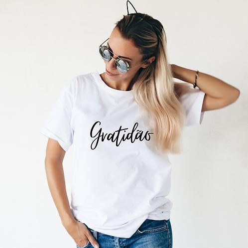 T-shirt Feminina Gratidão