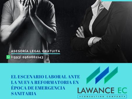 NOVEDADES LABORALES EN ECUADOR ANTE LA EMERGENCIA SANITARIA