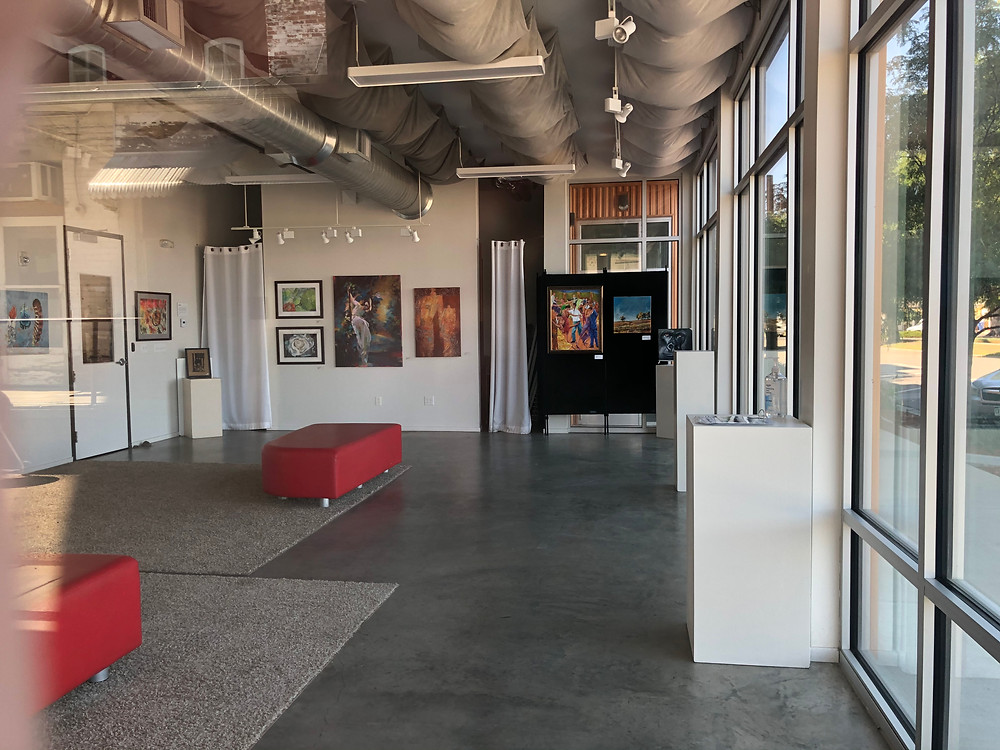 Art gallery in ArtSpace in Loveland, Colorado