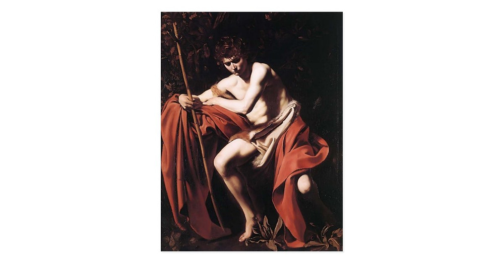 John the Baptist painting by Caravaggio