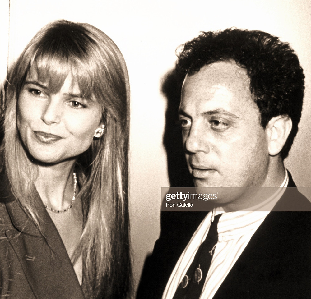 Christie Brinkley and Billy Joel were married in the 80's and divorced in the 90's