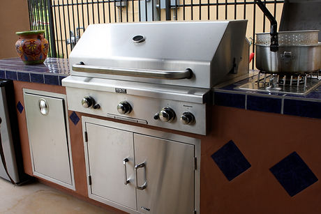 Outdoor Kitchen BBQ grill