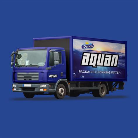 Aquan Truck Branding