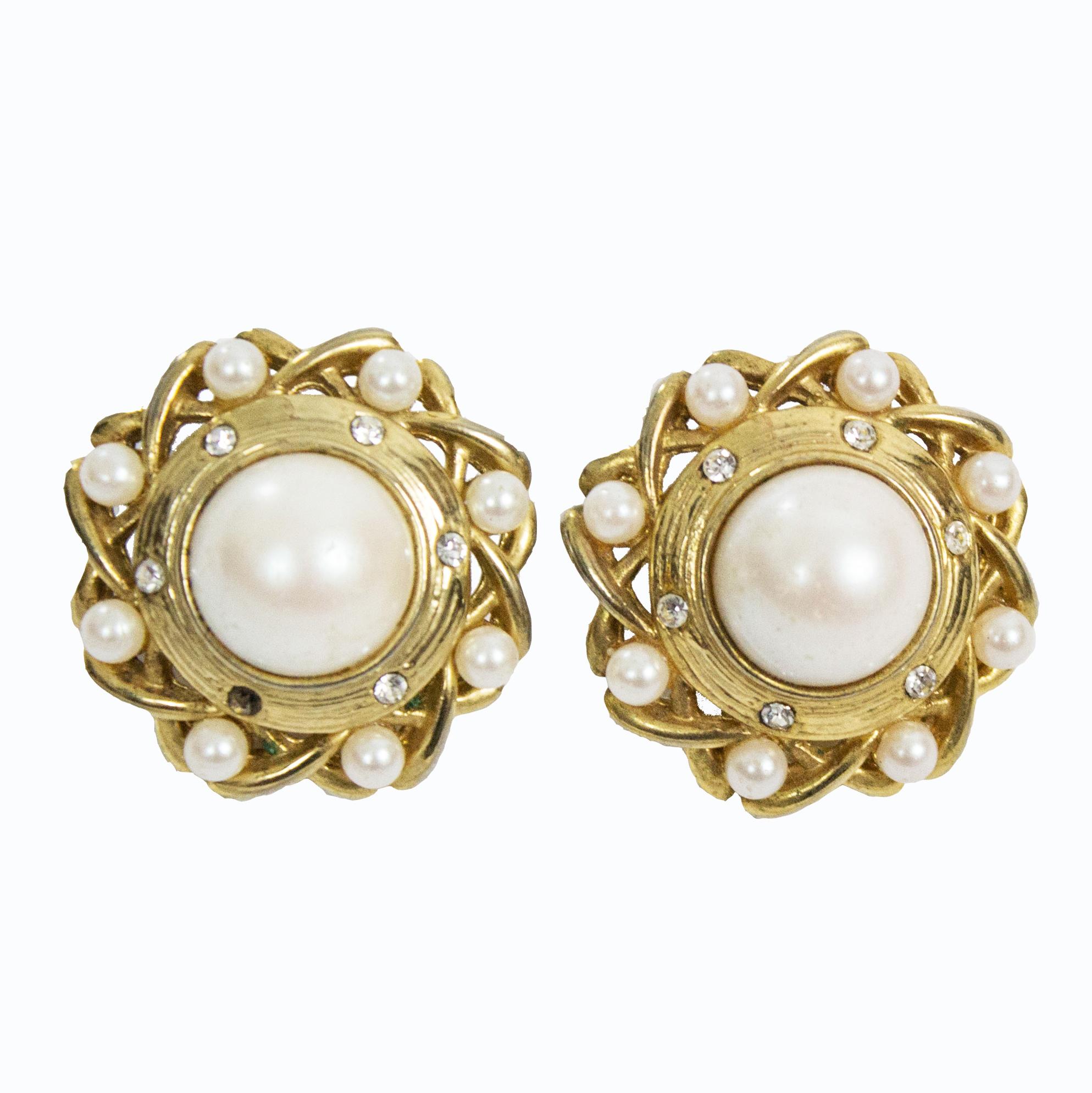 Earrings Chanel Style