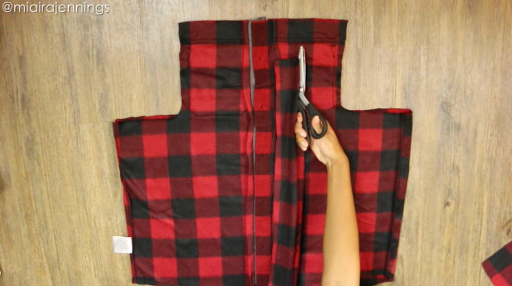 cut along fold