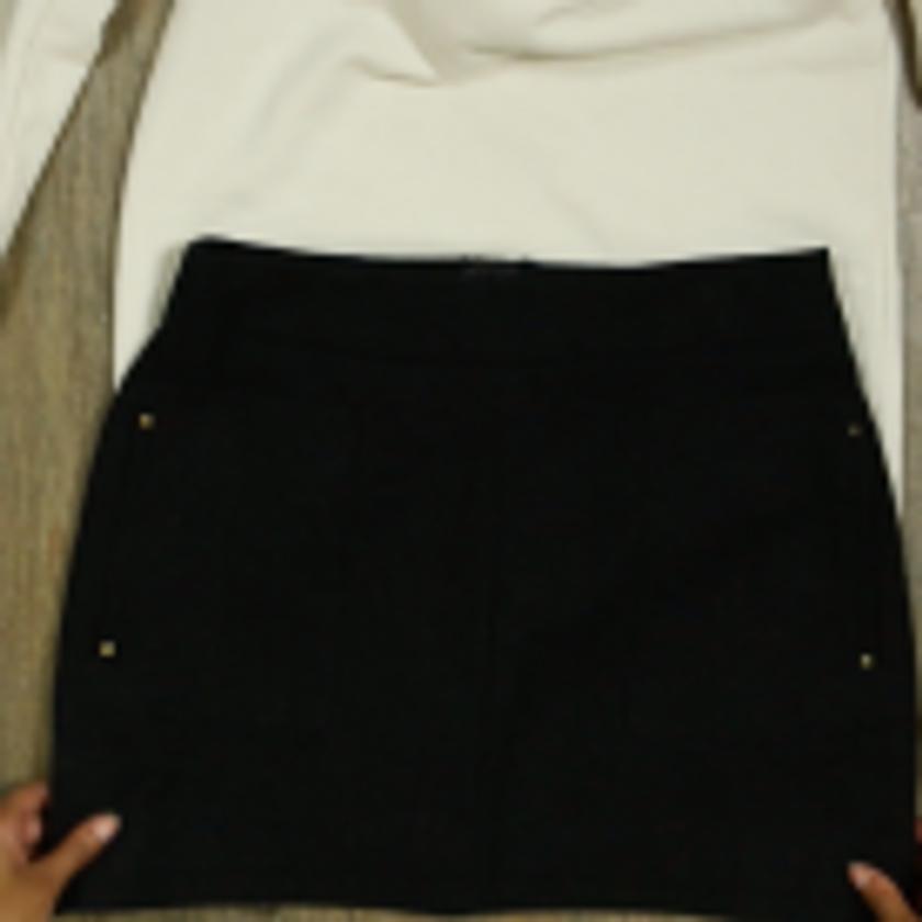 DIY Crop Top Hoodie and Skirt Set No Sewing – Step 2