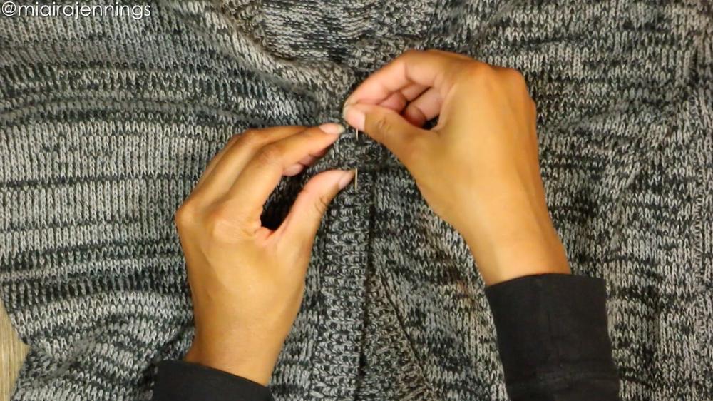 stitch and fold