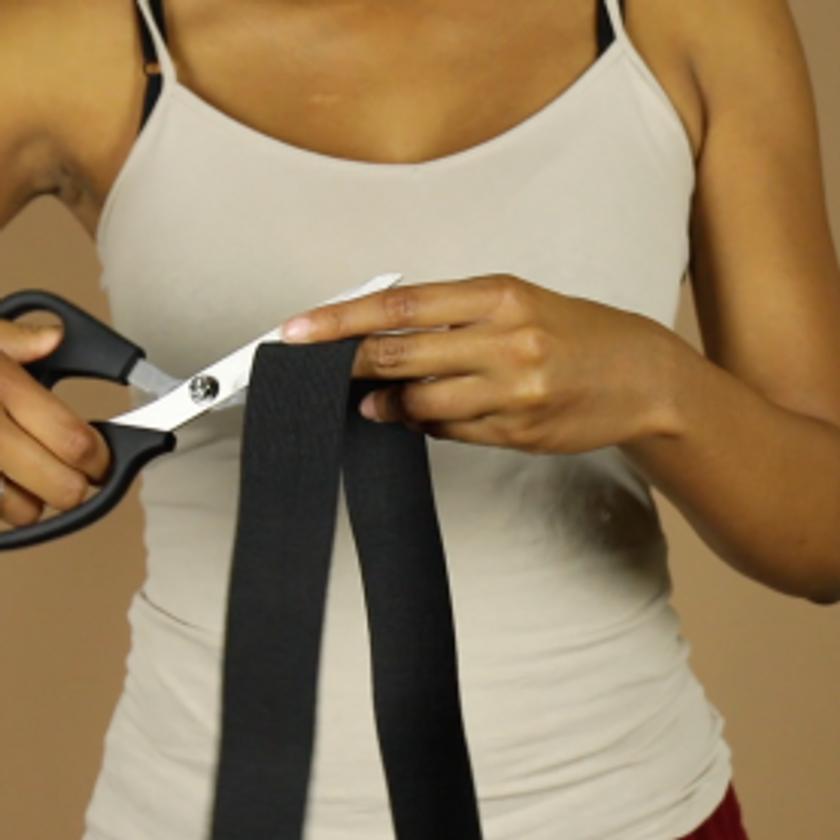 DIY Crop Top Hoodie and Skirt Set No Sewing – 4-3