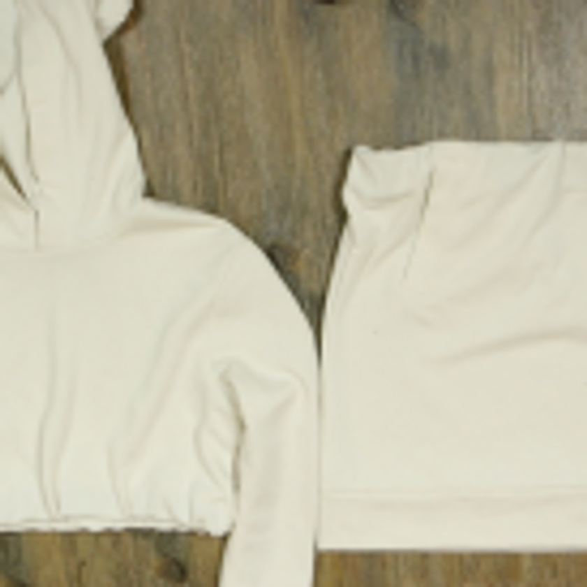 DIY Crop Top Hoodie and Skirt Set No Sewing – 5.4