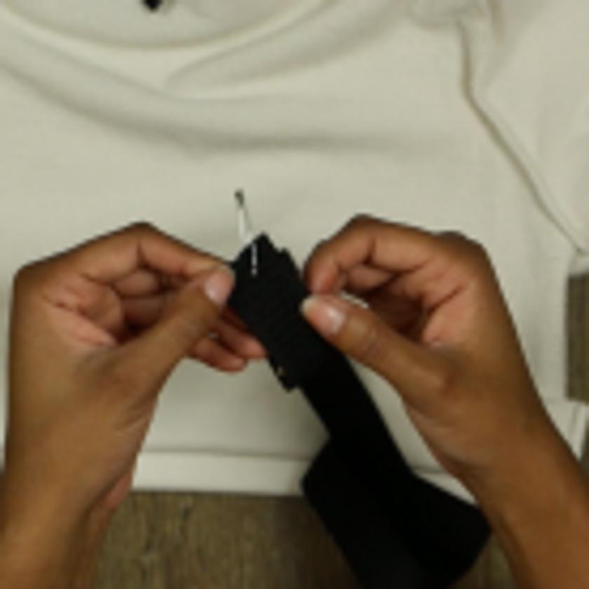 DIY Crop Top Hoodie and Skirt Set No Sewing – 5