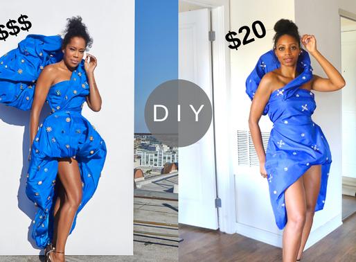 Making Regina King's Emmys Dress for Under $20