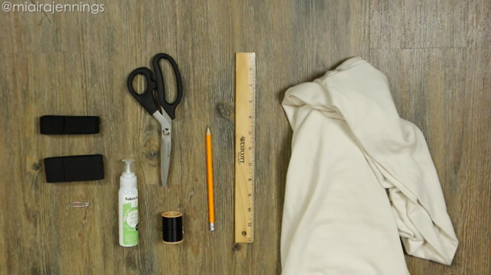 Materials - crop top hoodie skirt matching set