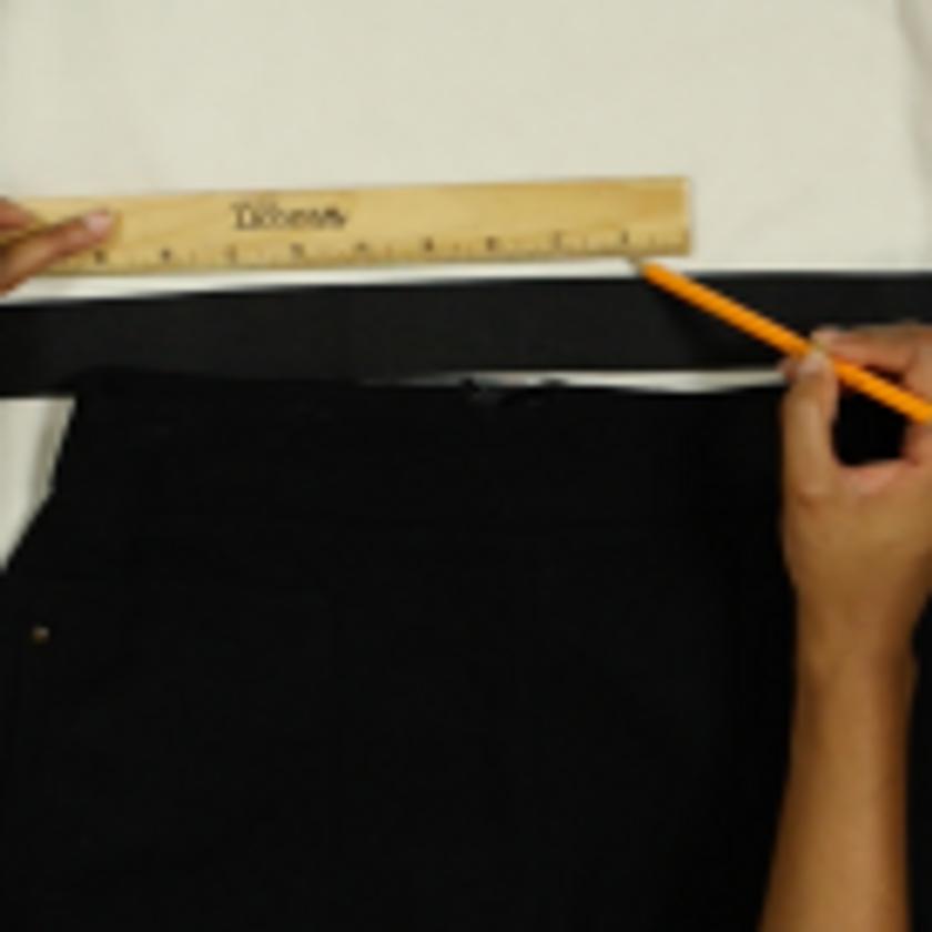 DIY Crop Top Hoodie and Skirt Set No Sewing – Step 2-2