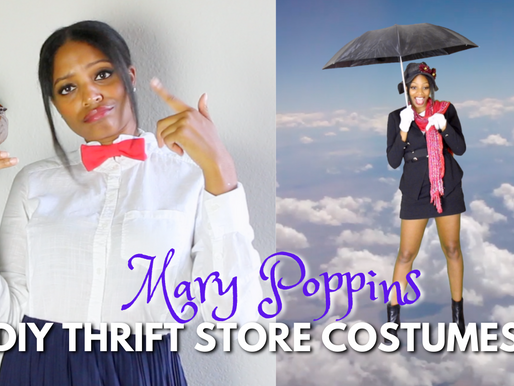 DIY Thrift Store Halloween Costumes - Mary Poppins