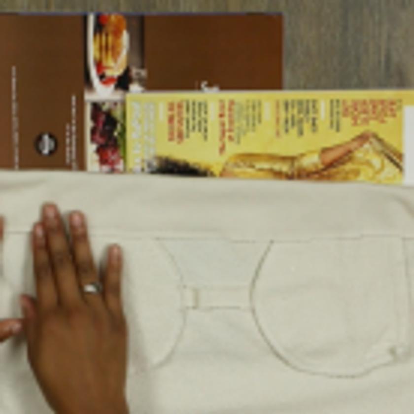 DIY Crop Top Hoodie and Skirt Set No Sewing – Step 3-4