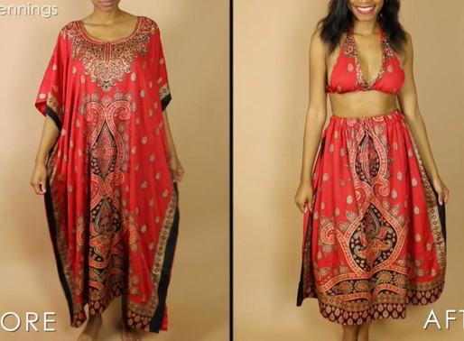 DIY Bralette & Skirt Matching Set (Beginners Sewing)