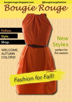 Fall Fashion Flyer