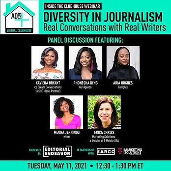 Miaira Jennings - Editorial Endeavor Diversity in Journalism Panel -Panel_Social_Instagram