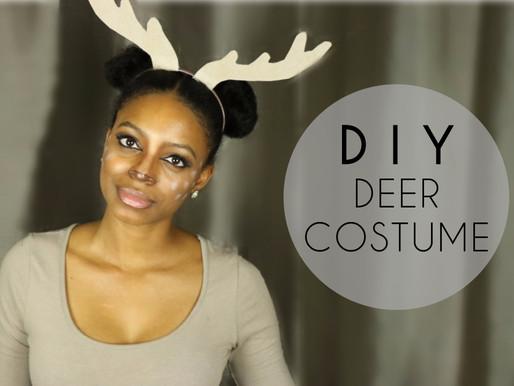 DIY Deer Costume