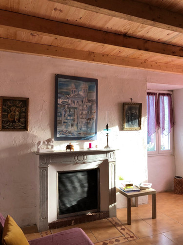 Salle à manger gîte Aghja Suttana Corse