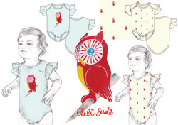 Baby CaliBirds