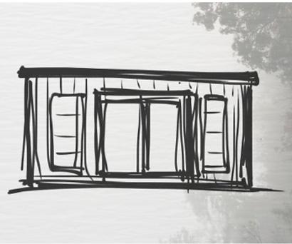 Beautifully design Crusoe Compact wooden garden room
