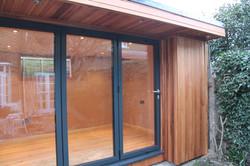 three leaf trifold doors