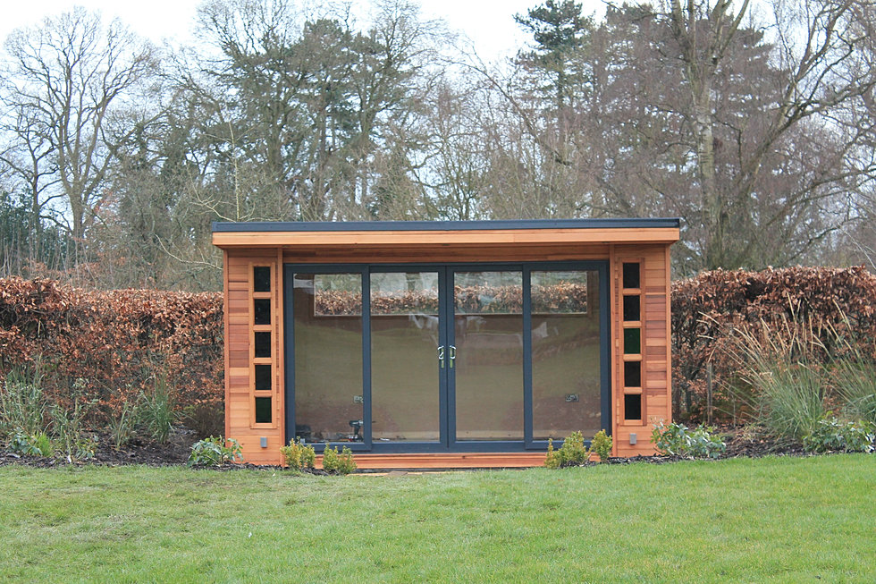 Garden buildings tates of sussex tates of sussex larch for Garden rooms sussex