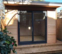 Beautifully design Crusoe Compact wooden garden room