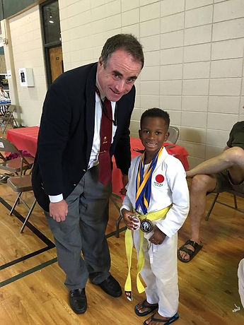 Youth karate class instructor proud of hard work and tournament success in New Orleans.