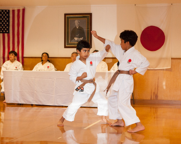 Children in karate gain confidence as they work hard and build skills at LKA Karate Club in Metairie.