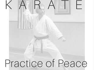 Karate, practice of peace