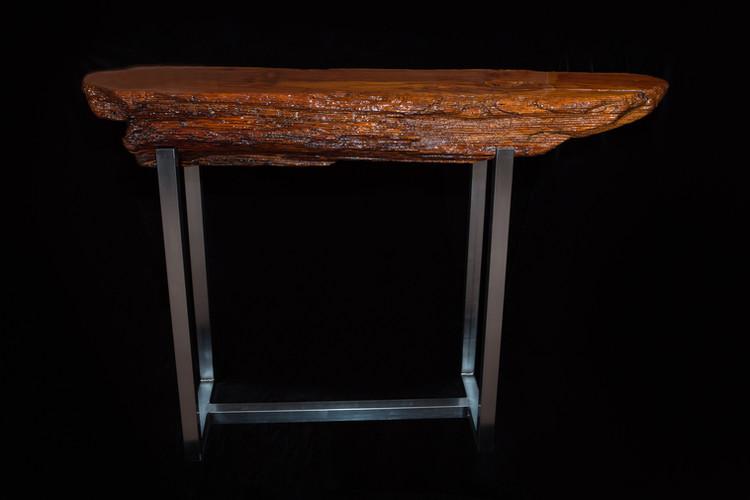 Douglas Fir log table