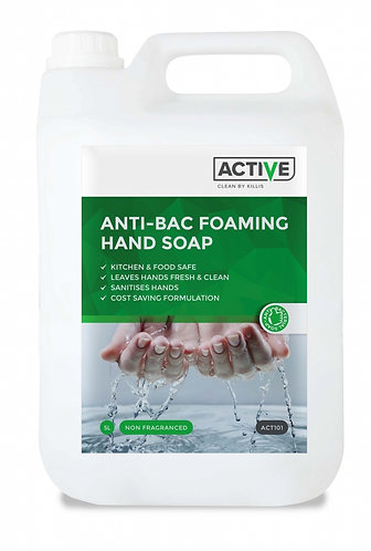 ACTIVE Foaming Hand Soap Bactericidal 5 Litre