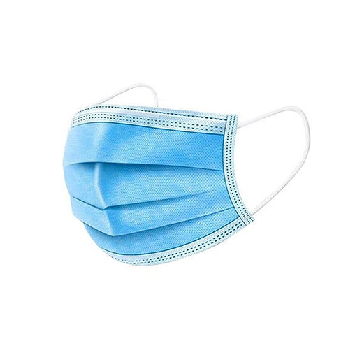25 PCS 3 Ply Disposable Medical Face Mask
