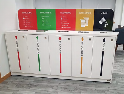Recycling Stations Solutions for Front of House