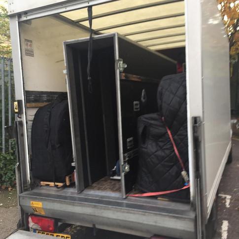 Specialised van, professional equipment