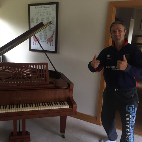 Grand piano movers London