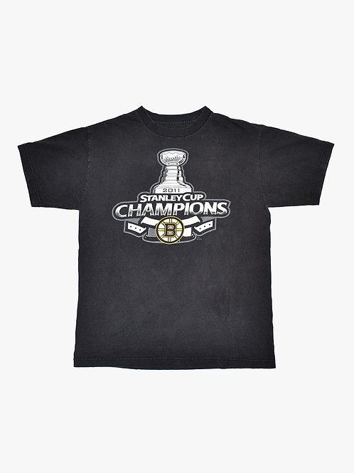 Boston Bruins Stanley Cup 2011 Tee (L)