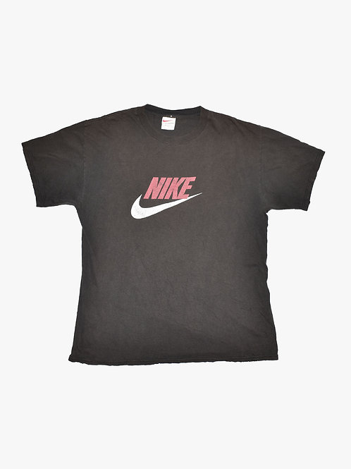 Black Nike Tee (L) (small holes throughout)