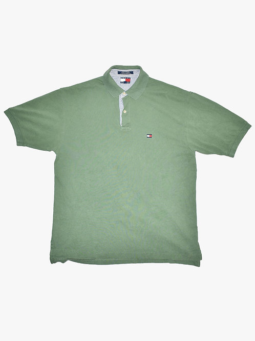 Tommy Hilfiger Green Polo (L)
