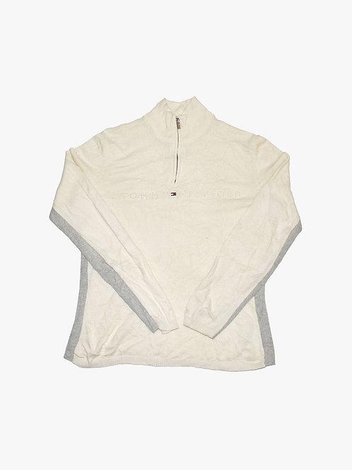 Tommy Hilfiger 1/3 Zip Sweater (M)