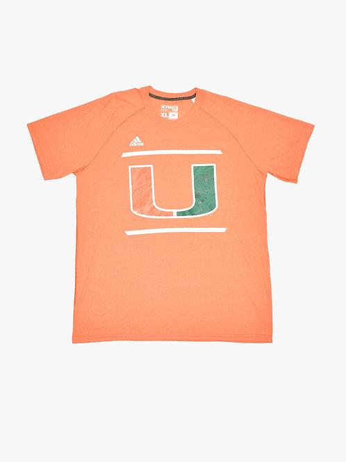 Miami Hurricanes Football Tee (XL)