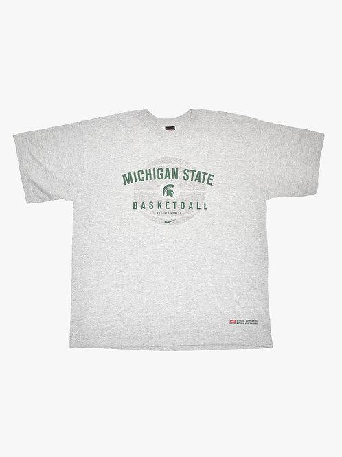 Michigan State Basketball Tee (L)