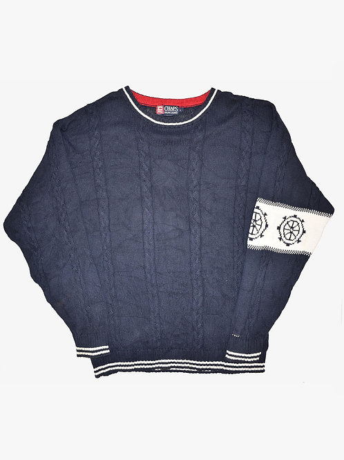 Chaps Ralph Lauren Navy Sweater (L)